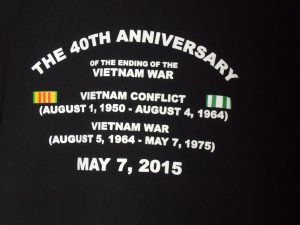 The 40th Anniversary of the end of the Vietnam War
