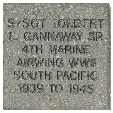 8x8 6 Line Memorial Brick Paver